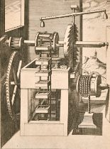 "Eberhard Kieser (1583-1631) 'Mechanics of windmills', etchings, 9"" x 13.25"", (16)."