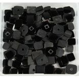 A BOX OF ONYX LOOSE STONES