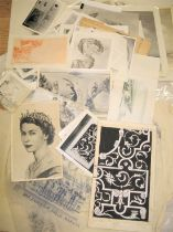 HARRISON (Ronald Alfred) artist / designer: collection of artwork and proofs for bank notes and