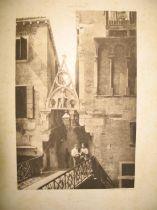 [VENICE] ONGANIA (F.) Calli e Canali in Venezia, 15 photogravures (only), folio, printed wrapper, 38