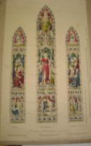 [STAINED GLASS] original watercolour design by JOHN HARDMAN & Co., Birmingham, for the East