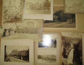 PHOTOGRAPHS. Collection of 19th c. U.K. topographical views.