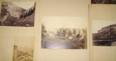 """ISLE of WIGHT. Collection of photographs, incl. """"tornado damage."""" (6)"""