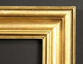 A moulded gilt frame, rebate size 38.5 x 47.5 , 98cm x 120.5cm.