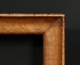 A deep box frame, rebate size 16.75 x 12.25 , 42 cm x 31cm.