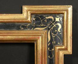 A moulded and painted frame, rebate size 24 x 26 , 61cm x 66cm.