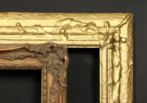 An early 20th century gilt composition frame, rebate size 19.75 x 23.75 , 50cm x 60cm, along with