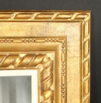 A fine quality carved wood frame, rebate size 29.25 x 36.75 , 64cm x 94cm, without slip 30.5 x 38.25