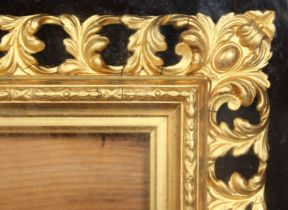A French Florentine style frame in a rosewood presentation box, reputedly made for a Paris