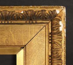 A 19th century Watts frame, rebate size 30 x 50 , 76cm x 127cm.
