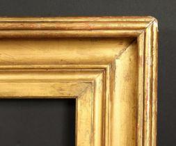 A 19th century hollow frame, rebate size 33.5 x 41.5 , 85cm x 105cm.