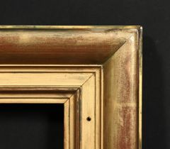 An early 20th century moulded gilt frame, rebate size 10 x 13 , 25cm x 33cm.