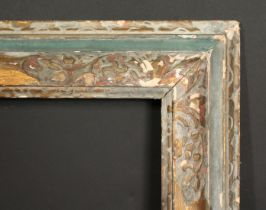 A 19th century carved Lely panel frame, 44 x 77.5 , 113cm x 197cm.