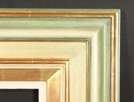 A 20th century moulded frame, rebate size 29 x 41 , 73.5cm x 104cm.