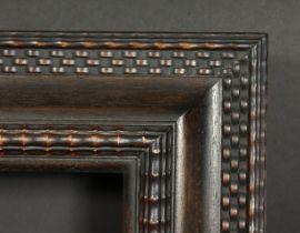A Dutch style ripple moulded frame, rebate size 26 x 45 , 66cm x 115cm.