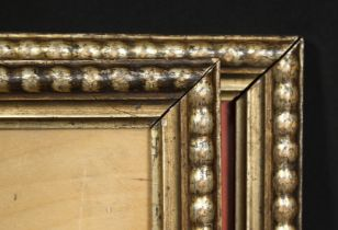 A pair of early silvered frames, rebate size each 8 x 6 , 20.5cm x 15.5cm, (2).