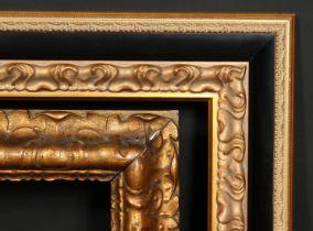 Two 20th century composition frames, rebate size 16 x 22 , 41cm x 56cm, 19.75 x 24 , 50cm x 61cm, (