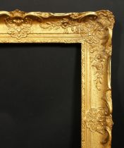 An early 20th century gilt composition frame, rebate size 16 x 20 , 40.5 cm x 51 cm.