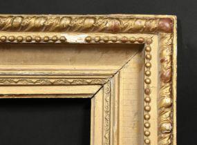 A 19th century gilt composition frame, rebate size 10 x 15 , 25.5cm x 38cm.