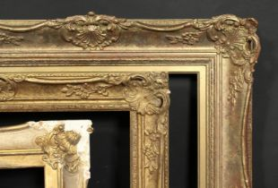 A group of three gilt composition frames 19th century and later, rebate sizes 19.5 x 23, 49.5cm x