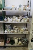 A large quantity of household and decorative china.