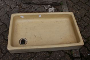 An old sink.