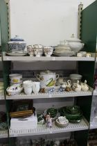 A quantity of household and decorative china to include Royal Worcester Evesham.