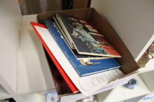 Books, postcards and other ephemera.