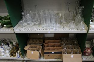 Household and other glassware.