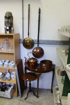 Copper ware and other items.