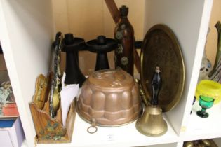 Copper and other metal ware etc.