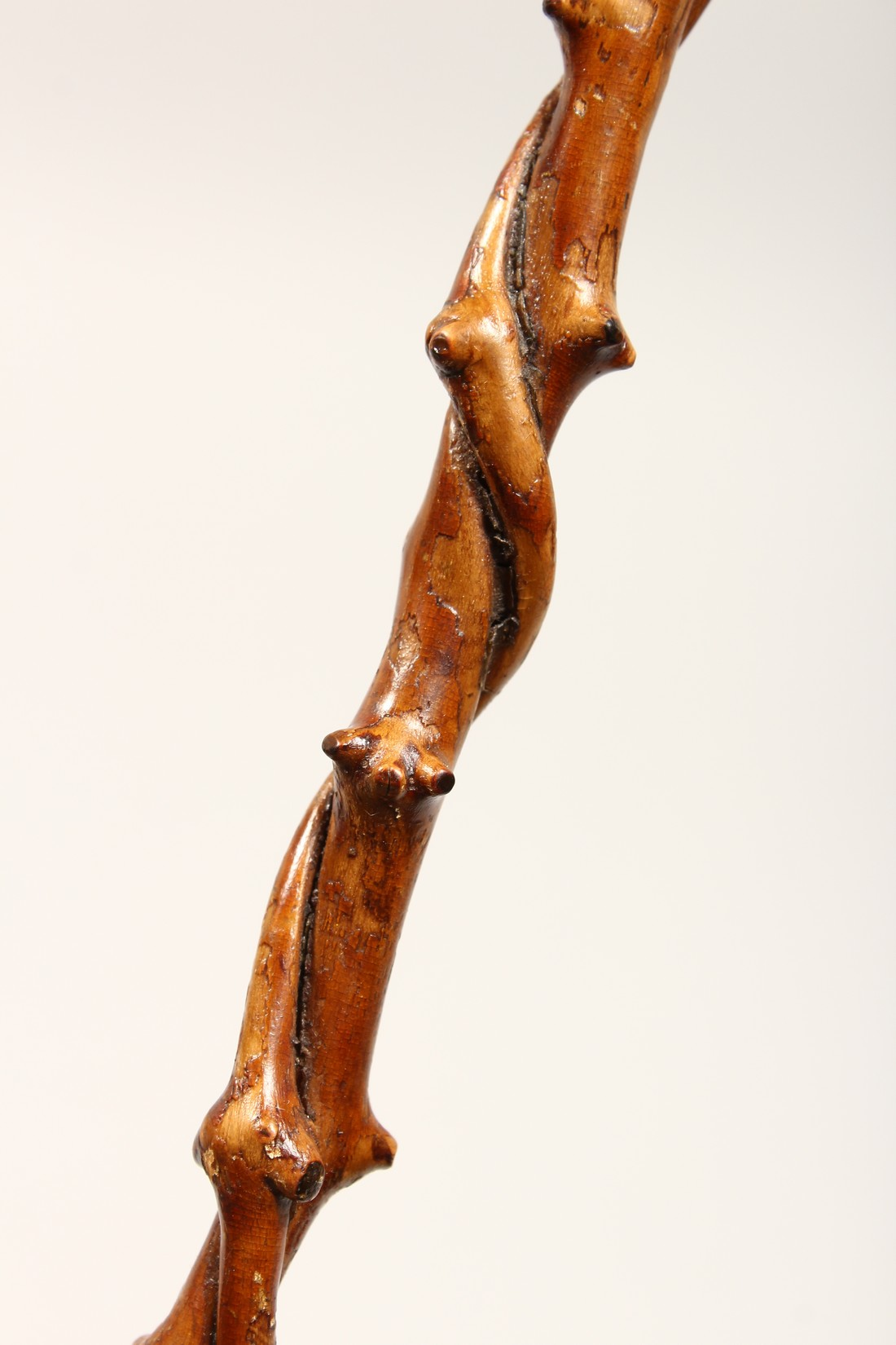 A SMALL DOG'S HEAD WALKING STICK 26ins long - Image 9 of 11