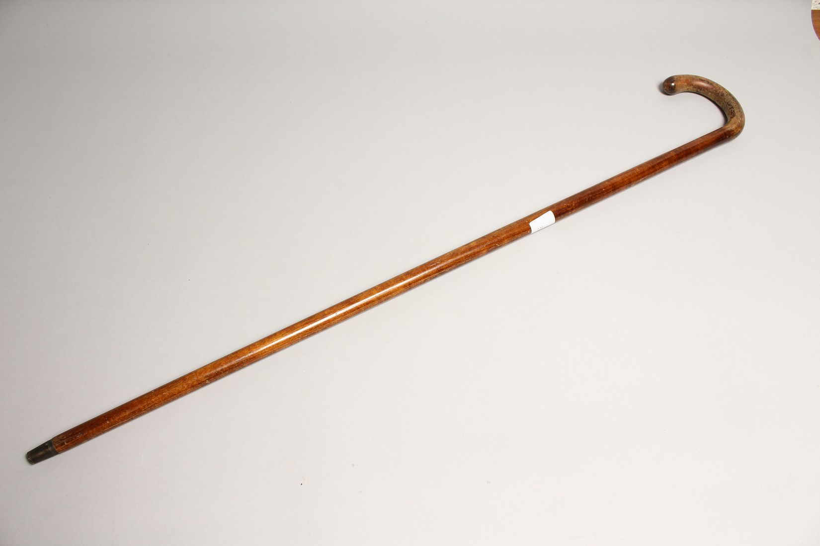 A RUSTIC WALKING CANE 3ft long - Image 3 of 3