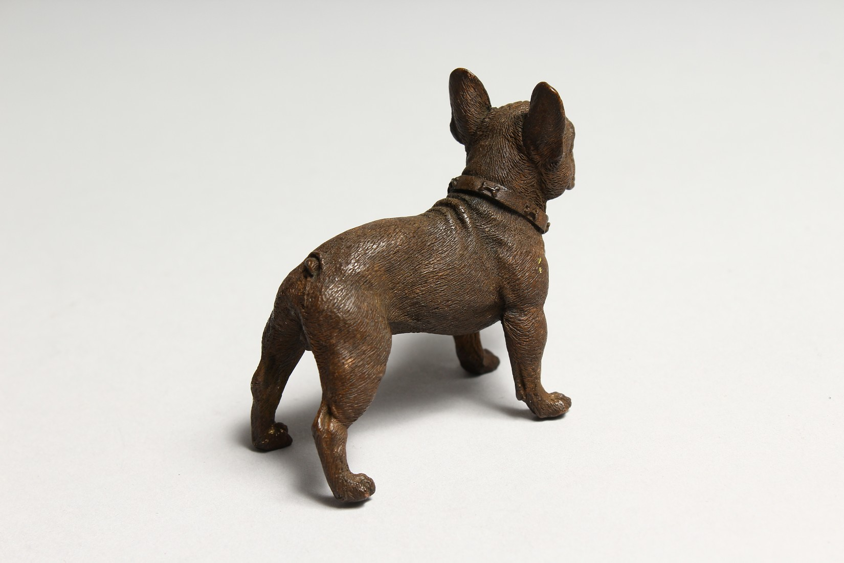 A BRONZE FRENCH BULLDOG - Image 2 of 2