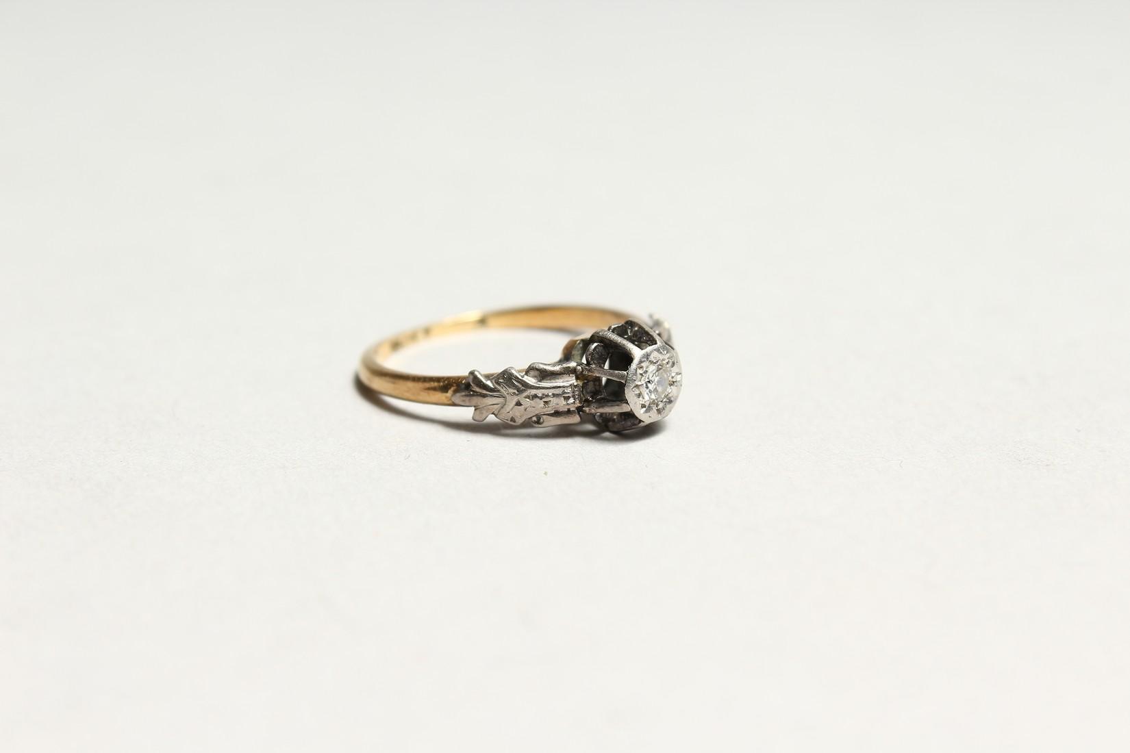 A GOOD 18CT GOLD DIAMOND SET RING - Image 3 of 5