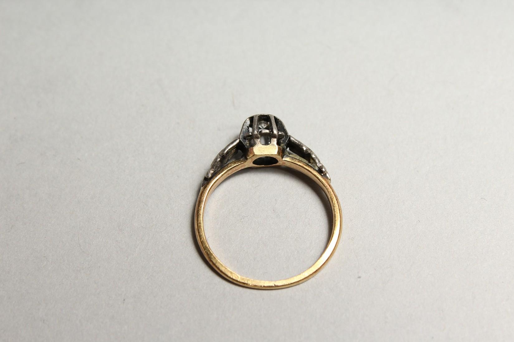 A GOOD 18CT GOLD DIAMOND SET RING - Image 4 of 5