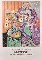 A group of five posters advertising exhibitions by Matisse, Picasso and other notable 20th Century
