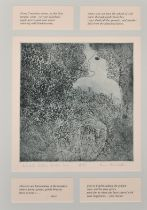 """Ann Brunskill, 'Aphrodite returns to the Sea', Artist's Proof, signed and inscribed in pencil, 15"""" x"""