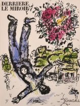 """After Chagall, two prints from 'Derriere Le Mirroir' 15"""" x 10.5"""", a further Chagall print 12"""" x"""