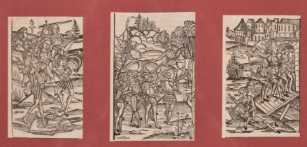 A boxed lot of old master engravings and some later old master scenes (Q).