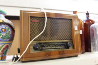An old Pye radio.