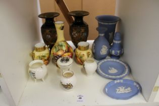 Aynsley, Doulton and other decorative china.