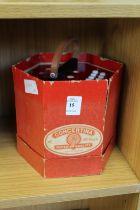 A boxed concertina.