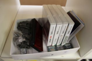 A Nintendo DS Lite and various games etc.