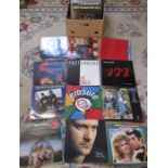 100+ pop and rock albums / LPs including John Lennon, Dire Straits, The Pretenders, Bruce