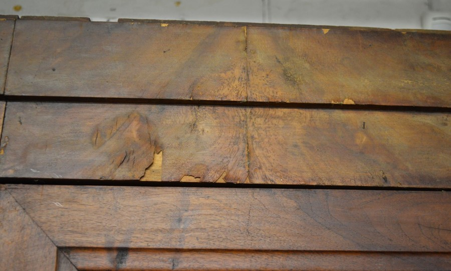 French walnut armoire H 205 cm W 127 cm D 51cm - Image 3 of 3