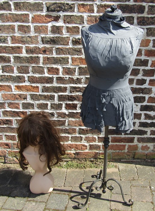 Dressmaker's mannequin & one other