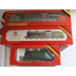 Hornby LNER Class B12/3 4-6-0 locomotive x 2 & tank steam locomotive R252 Class J83 0-6-0 LNER Green