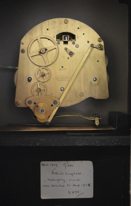 20th century Elliott longcase clock with spring driven mechanism, Westminster & Whittington chimes - Image 2 of 3