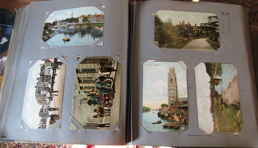 Reliable Series Album of postcards, mainly early Boston & Lincoln - over 200 cards - Image 3 of 14